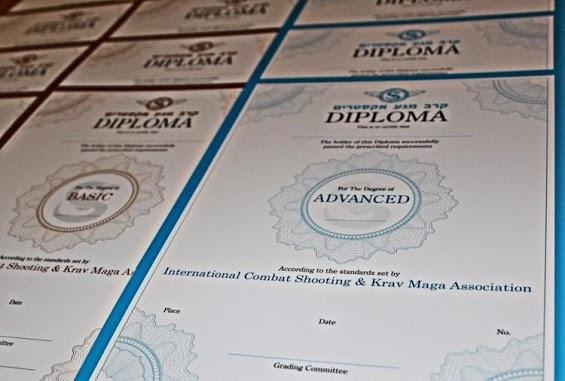 diploma Krav Maga